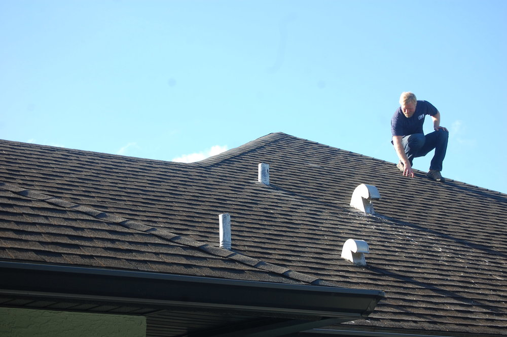 Roof Inspection - Roof inspections area one of the most important parts of your home inspection. Looking for exposed nail heads, punctured flashing and flashing voids is crucial to a good home inspection. While conducting a General Home Inspection on your next property, a thorough roof inspection will be completed. We are able to walk on about 95% of the roofs we inspect. Don't settle for a visual inspection with binoculars unless that is your only option.