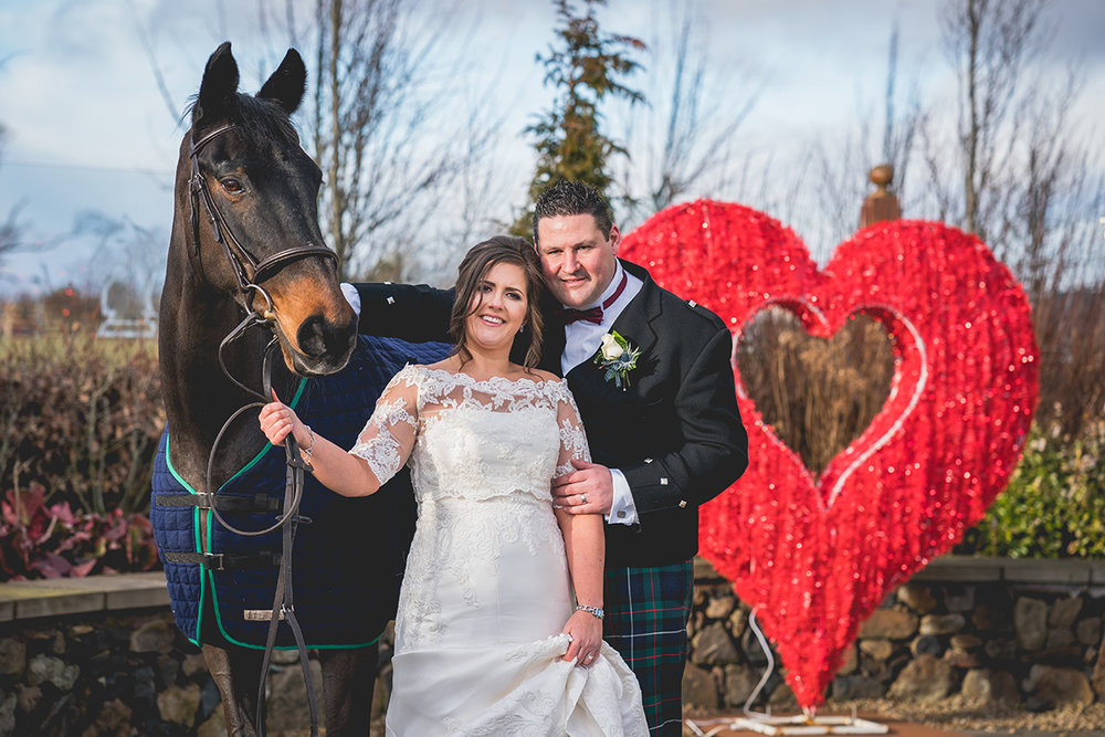 David took our photos for us in February and we are absolutely delighted with them. He was excellent from start to finish and made us and our guests feel at ease for the full day. Cannot recommend David enough!! - Eileen & David, February 2018