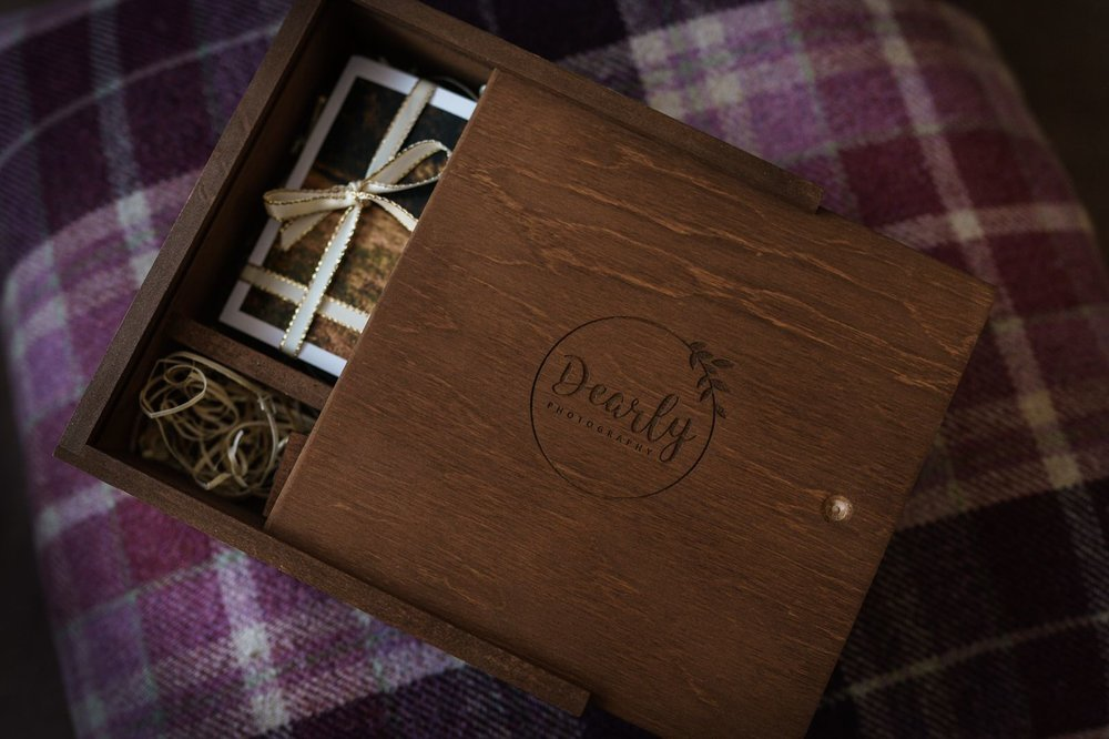 The Wooden Print Box - Included in all of my current wedding packages, this beautiful, personalised wooden print box with USB is a lovely keepsake. Relive your special day by thumbing through all those emotional moments, passing photos around with family and friends. Because nothing beats the tactile feel of a professional print.Read more about my offerings & pricing…