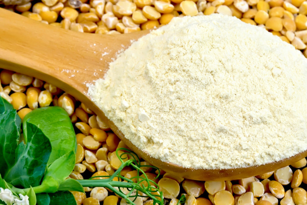 Organic Pea Flour - Peas are rich in vitamins A, C and B6, as well as Zinc. All of these are ESSENTIAL for skin health: Vitamin B3 – helps the skin stay moisturized, relieves irritation and improves skin tone