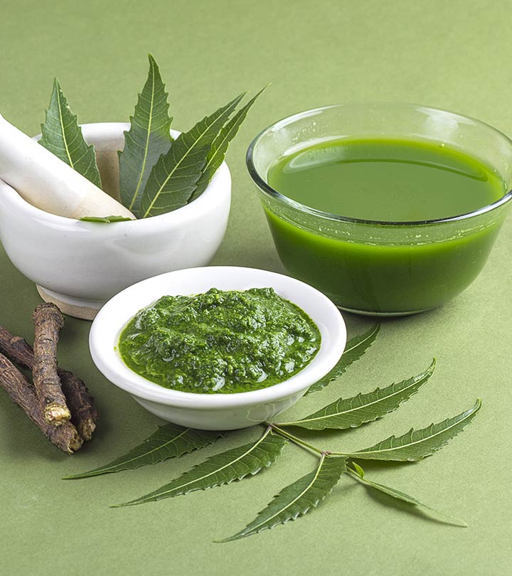 Neem - AntisepticAntibacterialAntioxidantThe role of Neem in acne is supported by studies which have shown that it exhibits anti-inflammatory activity by suppressing P. acnes-induced reactive oxygen species (ROS) and the pro-inflammatory cytokines TNF-a and IL-8.