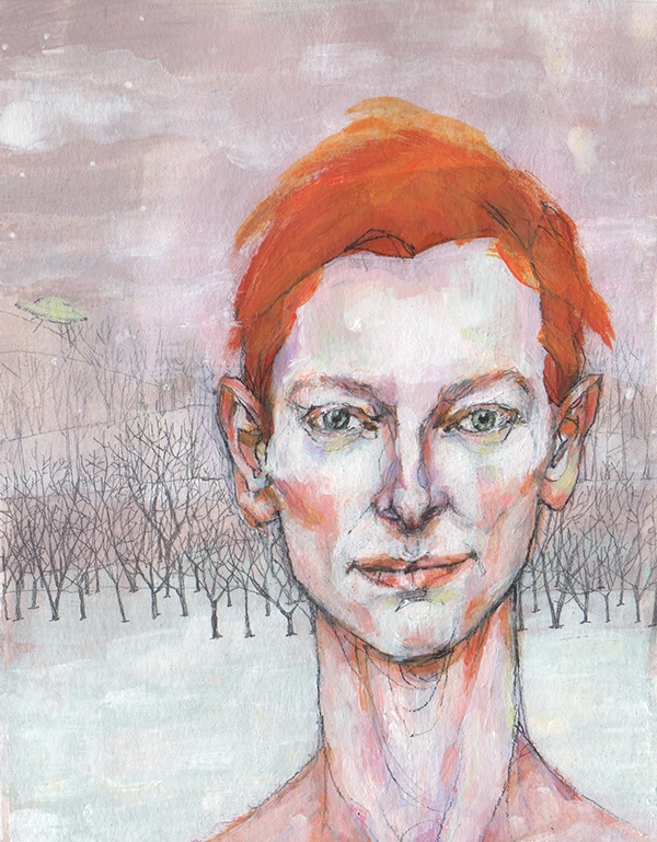 Tilda Swinton is a lovely alien