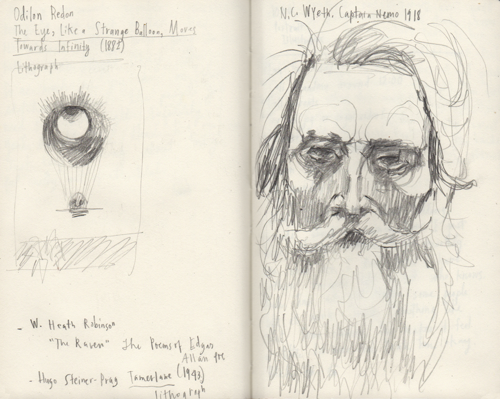 sketches from the Brandywine Museum