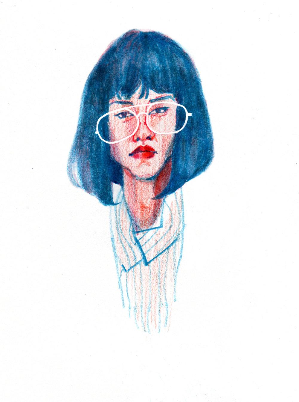 """Dr. Azumi  (Sonora Mizuno) from """"Maniac"""""""