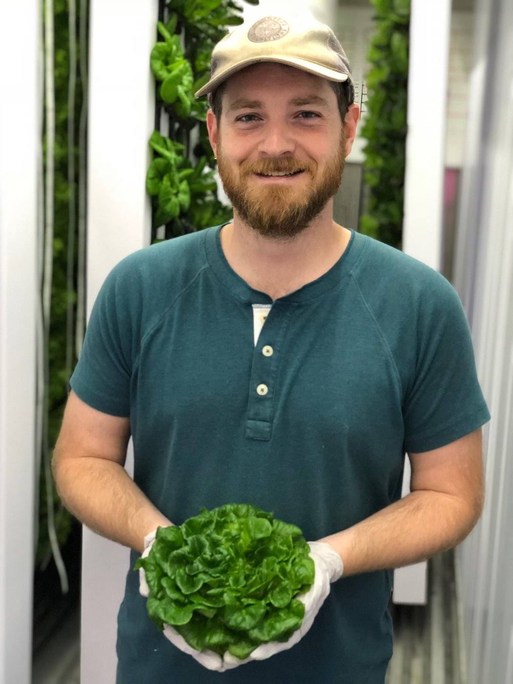 """""""We're excited to be offering this great product to our customers just a few feet from where it was grown,"""" says David Goodman of Rally House Farms."""