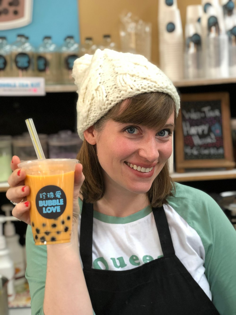"""My recipes are all derived from the best of what we experienced in southeastern China,"" says Anna Fields of Bubble Love. ""It took a while to get them just right, but when you find that perfect tea/creamer/boba ratio, you know."""