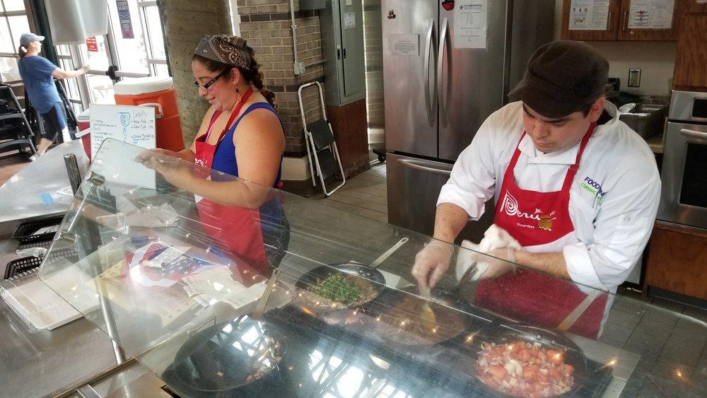 Two Peruvian Chefs