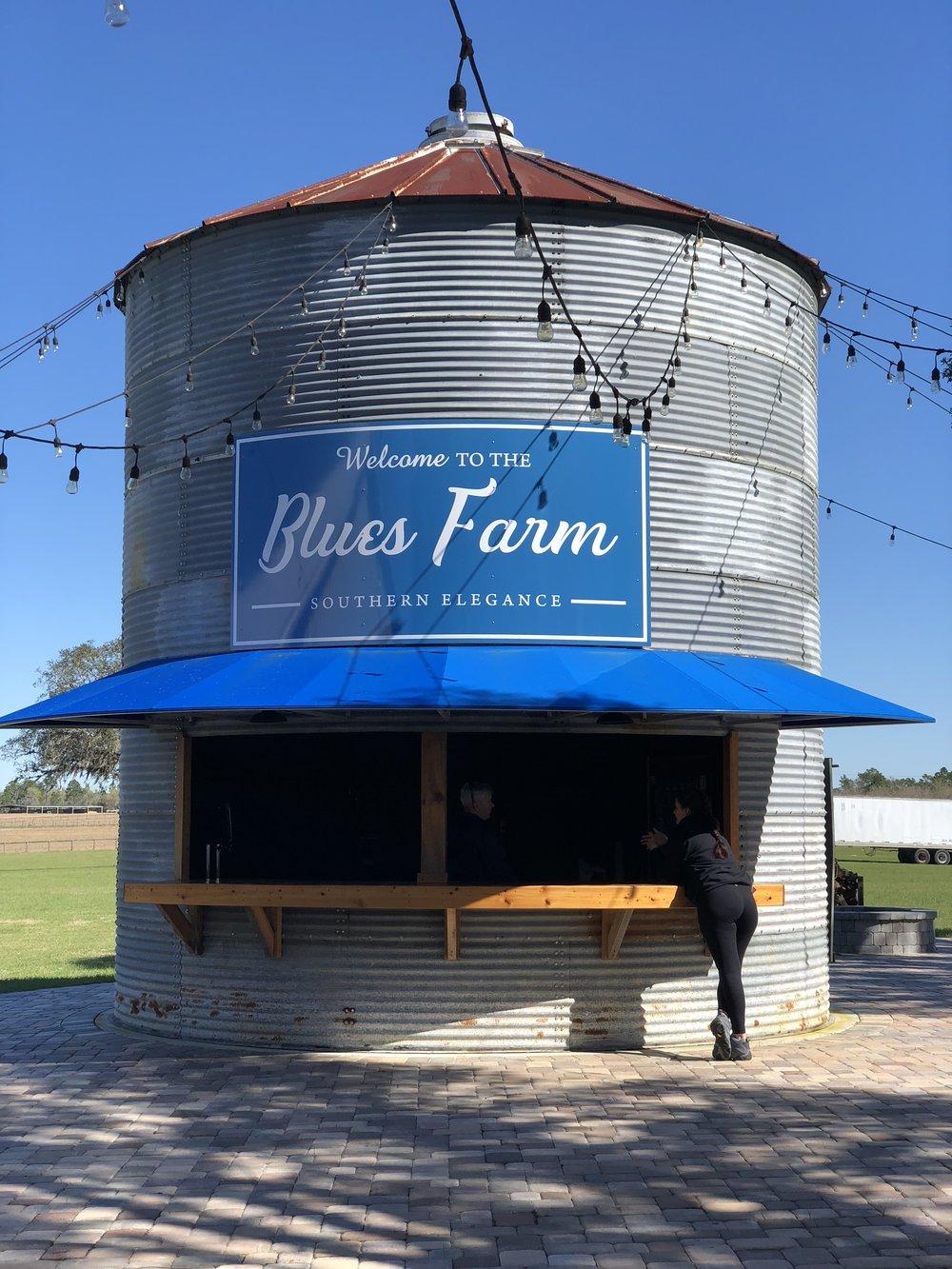 Red, White & Blues Farm in Williston, Florida