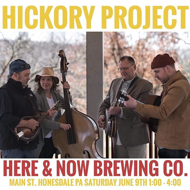 Come on out to Honesdale for some bluegrass and brews.