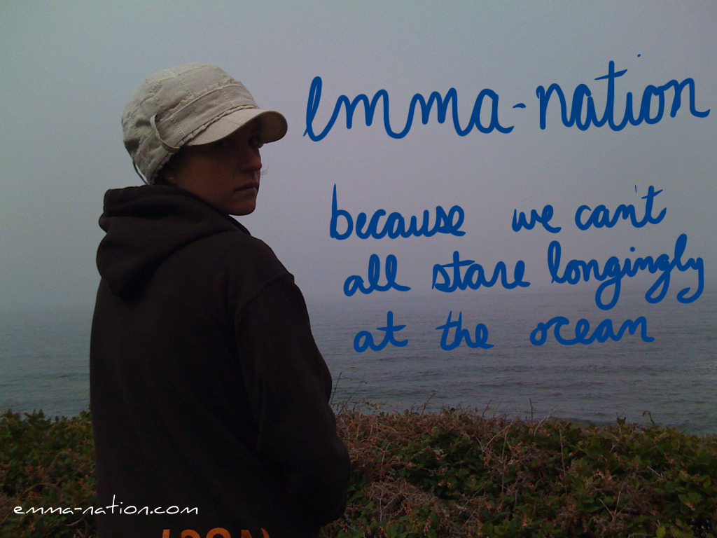 emma-nation: because we can't all stare longingly at the ocean