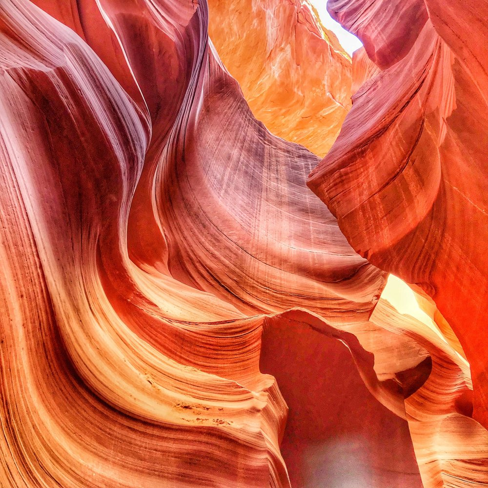 Angel's Landing in Antelope Canyon - The more I travel, the less significant I feel comparing to beauty and magic of our planet. Every place I go reminds of how lucky I am to be entitled to observe this beauty that was shaped through billion year lasting processes. And there are places, like Zion National Park and Antelope Canyon, which change you in a very peculiar way - the beauty of those places overwhelms you and you never same again.