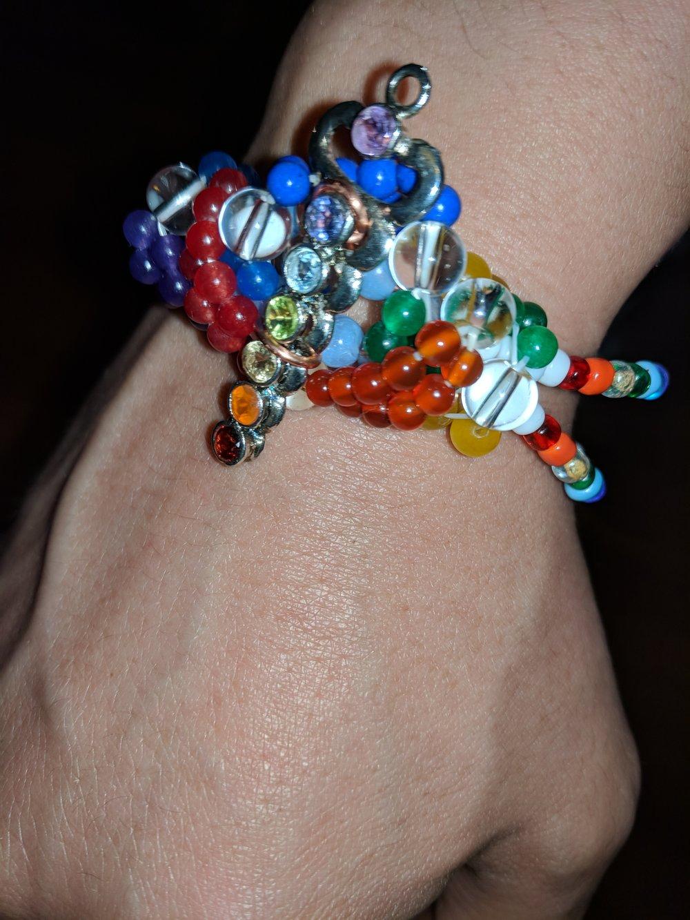 Oshumare Healing Bracelet