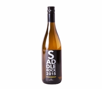 2015 Saddlerock Chardonnay- Lodi   A sip of this Chardonnay is like taking a walk through an orchard. Freshly bloomed peach and lime blossom with light vanilla bean on the nose. Bright green apple, tangerine, and lemon bar envelop the palate. It's spring time in a glass!