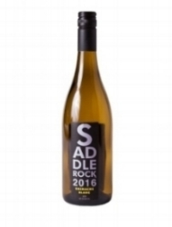 2016 Saddlerock Grenache Blanc-Lodi   Scent of honeysuckle and pear lead to tart pineapple, orchard peach through the palate. A slight minerality with a hint of white pepper and lime zest on the finish.