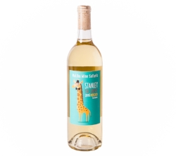 2016 Malibu Wine Safaris Muscat Canelli (Stanley The Giraffe)- Madera   This wine displays a crisp and refreshing acidic finish. It's perfect for a warm day on the Savanna, so pour yourself a long, tall glass and pucker up!