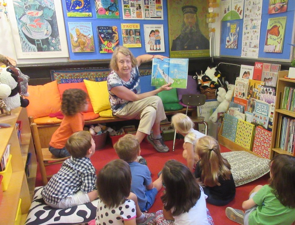 Heather McDermott - Heather has been the Lead Teacher in PreK since 1984. She enjoys reading to the class, entertaining the children, with character voices and enjoying their comments and questions. She also encourages mixed media art work and working on large collaborative murals, the more paint the better. Each and every day, she finds it gratifying that the children rise to any occasion and respond in such positive ways.