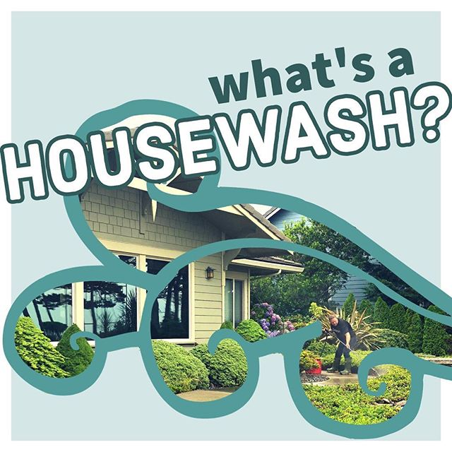 Wondering exactly what it is we do at Cubic Ft? In short, if there's a mess, we clean it...but keep reading for more dirty details. ⬇️🏠💦 HOUSEWASH: treating, washing, and rinsing the exterior surfaces of your home, from the peak of the roof to base of the foundation, resulting in the removal and prevention of algae, moss, mildew, grime, etc; concrete and deck surfaces optional; sealing available upon request  #cubicft #pressurewashing #florenceoregon #housewash #housewashing #letswashit