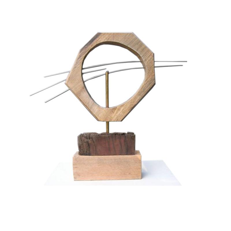 Wood / Mixed Media Sculpture