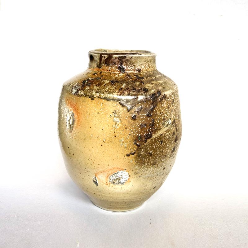 Ashsplattered jar ceramic 2017 38cmH SOLD.jpg