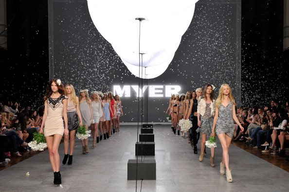 Fashion Style. - Airstar adds a key design element, along with glare-free soft light (helium), for Myer.