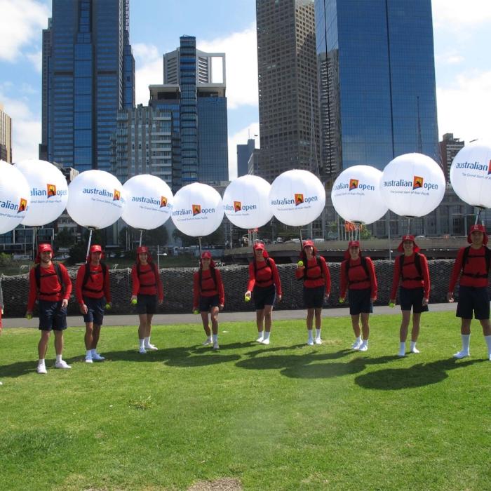 Australian Open Tennis, media launch, Melbourne CBD