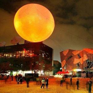 The Light in WinterFederation Square, Melbourne. -