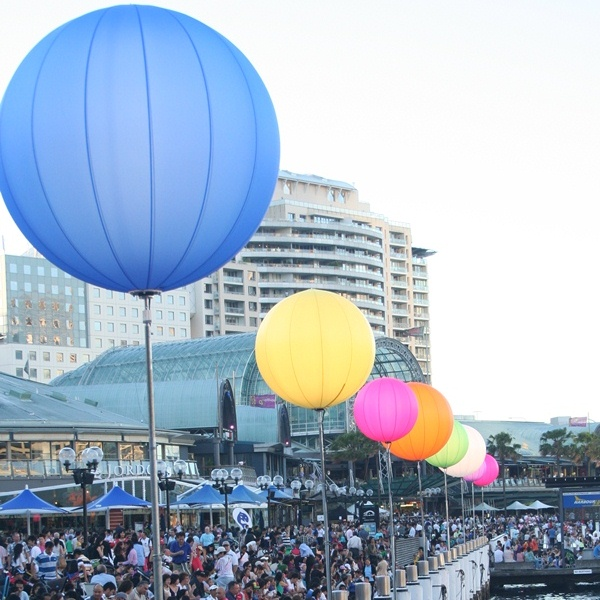 Darling Harbour NYE bollards