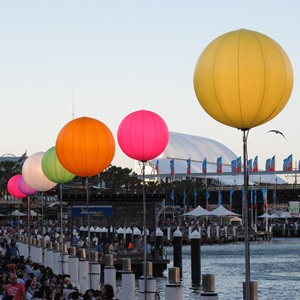 Darling Harbour NYE colour