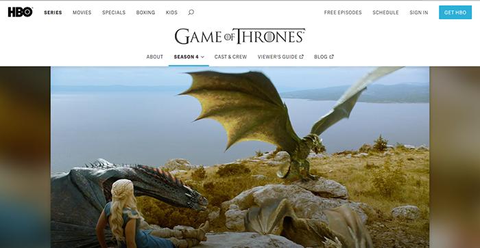 HBO 热剧 权利的游戏 Game of Thrones