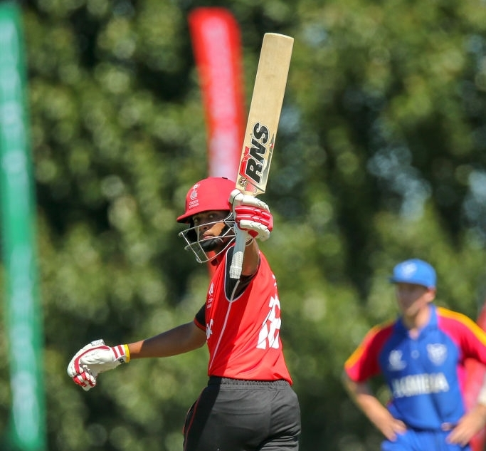 Age 17, still one of the younger players in the Canada U19 side, Akash was top 10 in both batting and bowling out of all teams at the 2018 U19 World Cup in New Zealand.