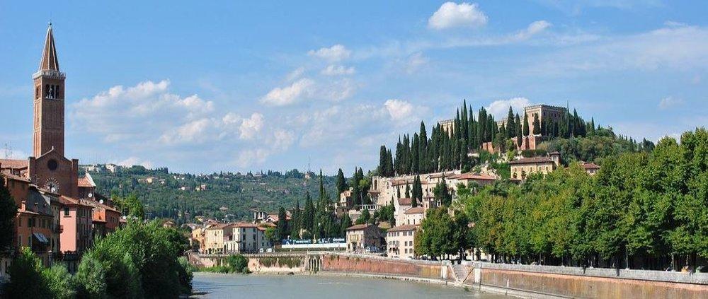 Castel San Pietro, historical heart of Verona