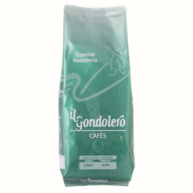 """Especial Hostelería - La clásica combinación de los arábicas y robustas más escogidos del mercado, que históricamente ha sido la base del tradicional café español, nos da como resultado este """"blend"""" poderoso y denso.Con """"especial hosteleria""""obtendrá una taza de café recia e inolvidable.Envase 1Kg.Ingredientes : 50% Arábica, 50% Gran robusta. Cafeína 1,5% aprox."""