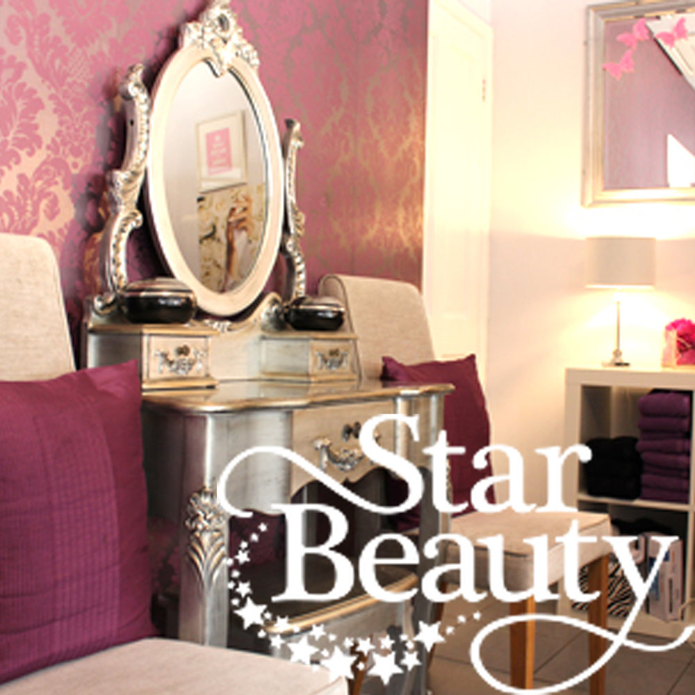 Star Beauty    We pride ourselves on keeping up to date with the latest beauty trends and treatments available. Together Sharon, Magdalena, Sophie and Katie have over 25 years of experience within the beauty sector. We all share a passion and enthusiasm for all things beauty and we strive to make sure all of our customers leave the salon feeling pampered and looking fabulous!
