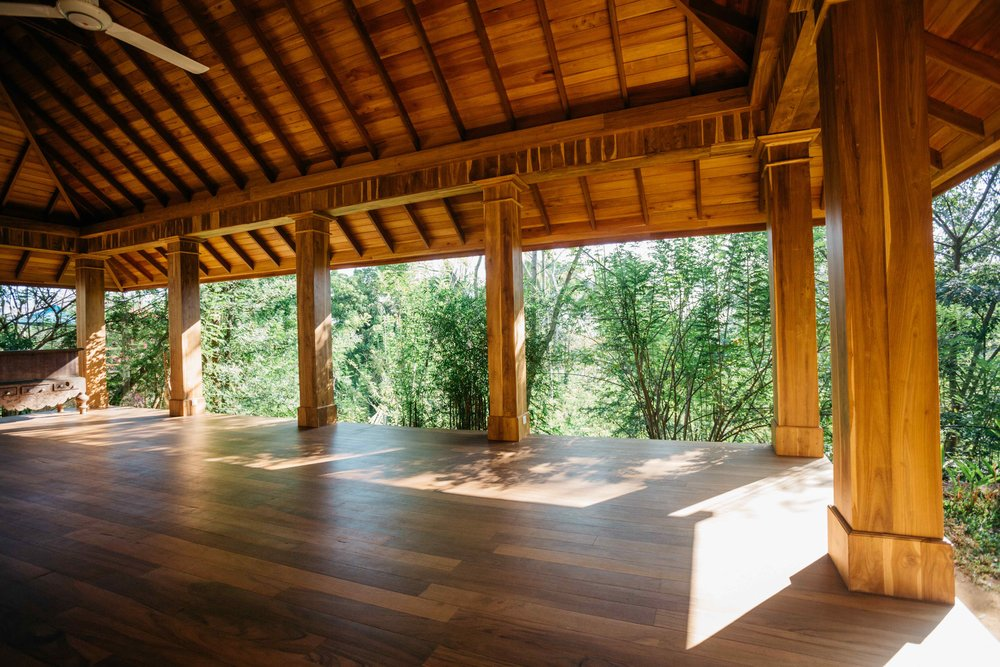 Yoga Shala at Rukgala Retreat