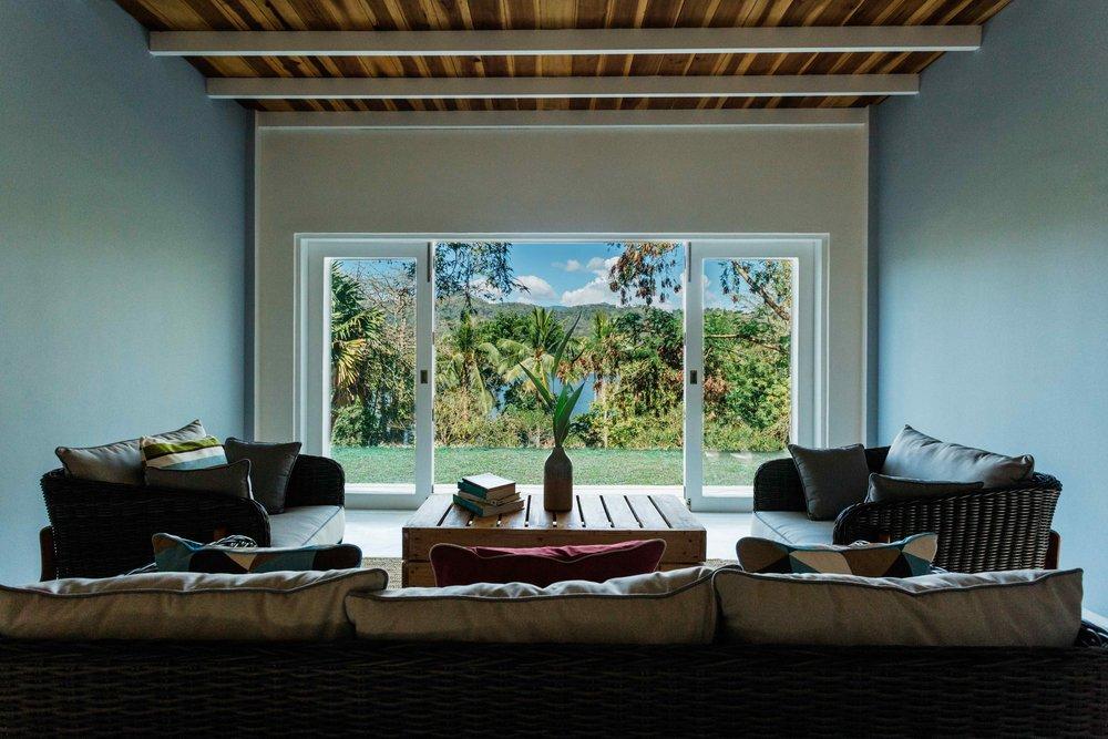 Rukgala Garden Cottage sitting room