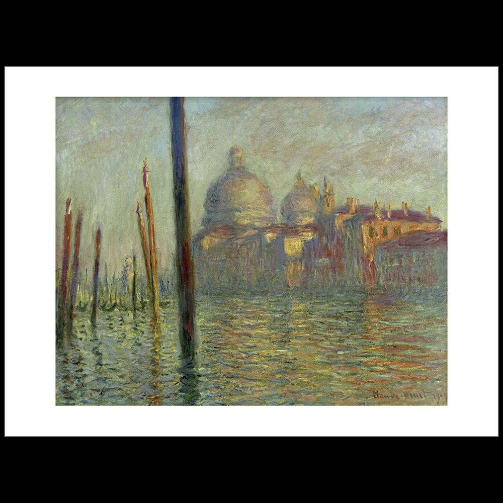 Monet - Canal Grande Venice
