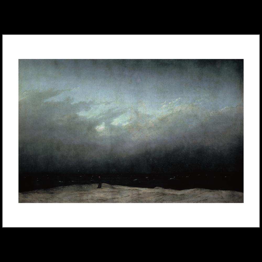Friedrich - Monk by the Sea