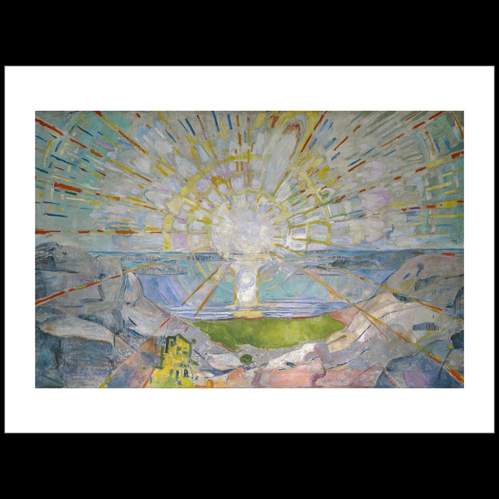 Munch - The Sun 1910