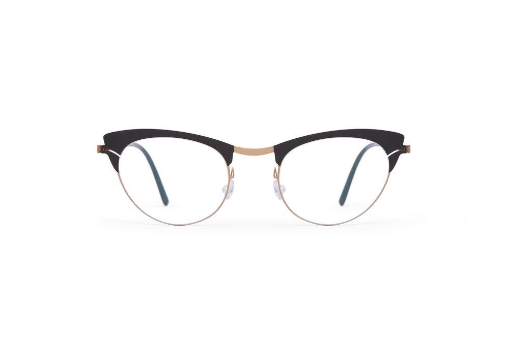 haffmans_neumeister_capri_rosegold_brown_darkbrown_clear_line_eyeglasses_front_102063.jpg