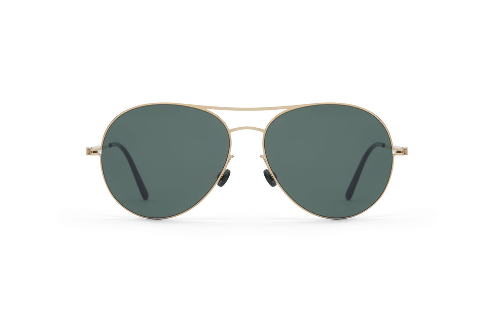 haffmans_neumeister_catalina_gold_darkgreen_green_line_sunglasses_front_102057.jpg