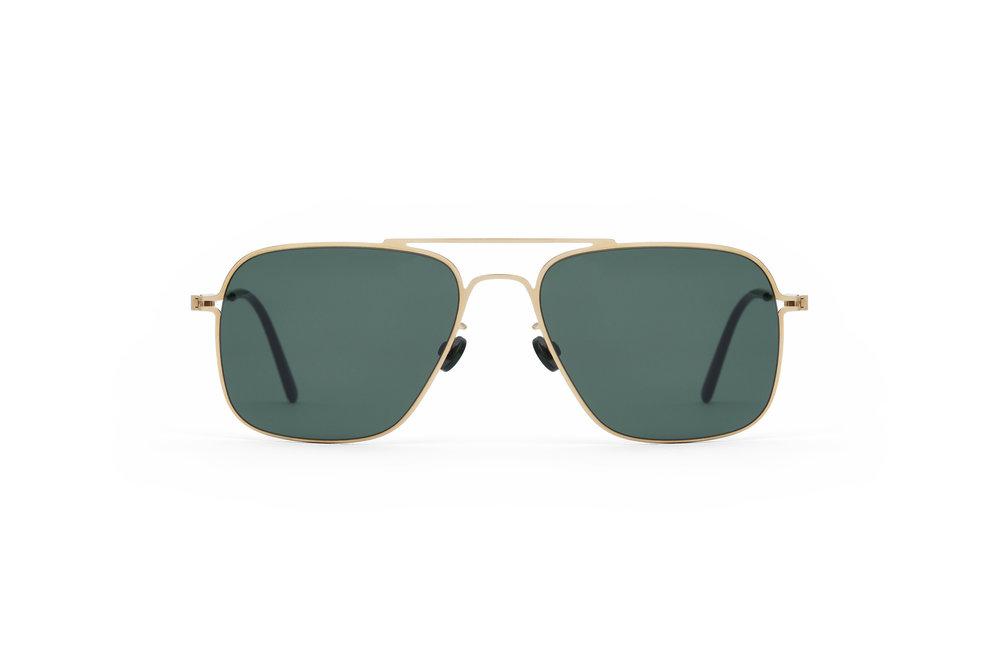 haffmans_neumeister_clipper_gold_darkgreen_green_line_sunglasses_front_102177.jpg