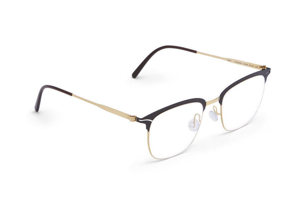 haffmans_neumeister_continetal_gold_brown_darkbrown_clear_line_eyeglasses_angle_102208.jpg