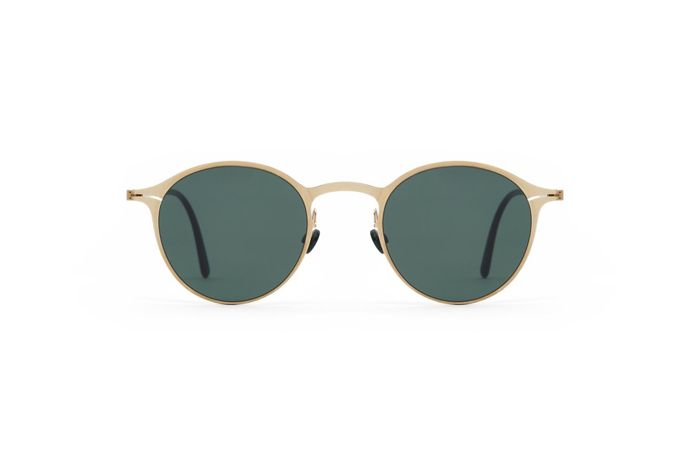 haffmans_neumeister_delage_gold_darkgreen_green_line_sunglasses_front_102156.jpg