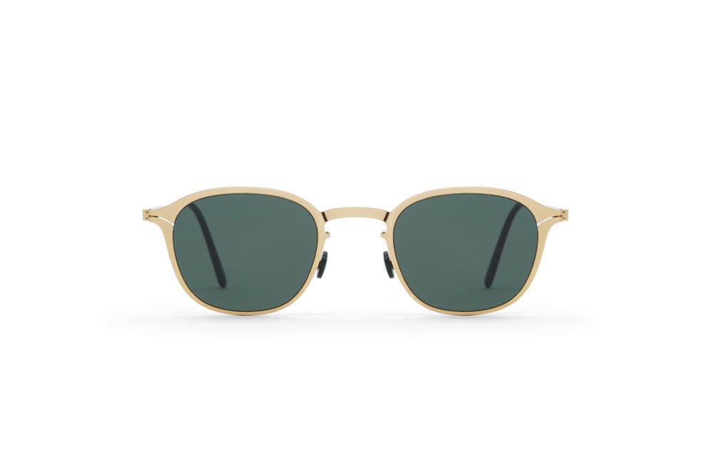 haffmans_neumeister_lambert_gold_darkgreen_green_line_eyeglasses_front_102232.jpg