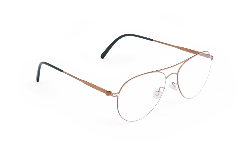 haffmans_neumeister_swift_rosegold_darkgreen_clearline_eyeglasses_angle_102132.jpg
