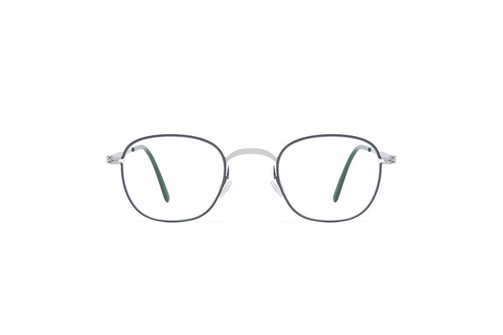 haffmans_neumeister_tutmark_silver_grey_black_clear_line_eyeglasses_front_102076.jpg