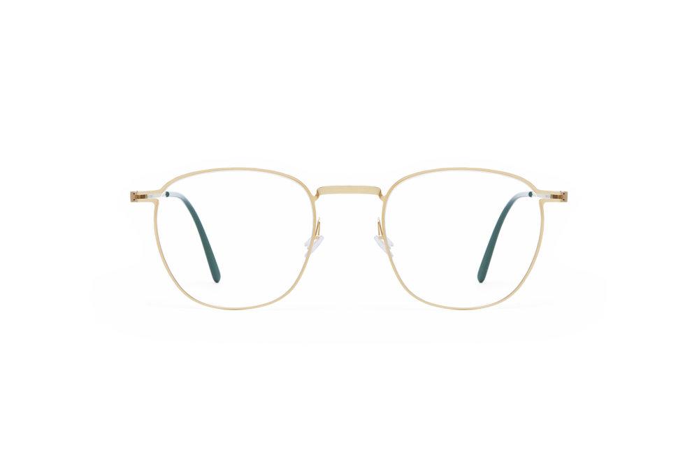 haffmans_neumeister_wakefield_gold_darkgreen_clear_line_eyeglasses_front_102108.jpg