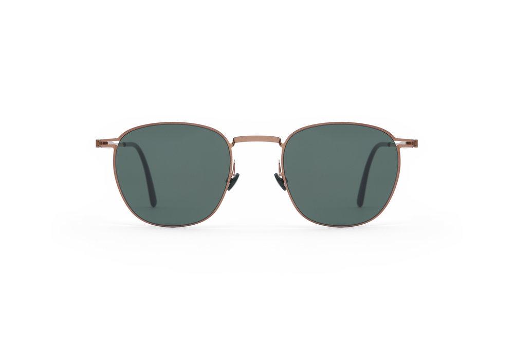 haffmans_neumeister_wakefield_rosegold_darkgreen_line_green_sunglasses_front_102110.jpg