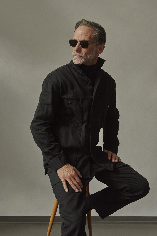 Shown wearing model Egorov