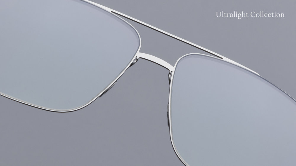 From a Surface to a Line - The Ultralight Collection transforms surface to line—from flat metal to wire. An exceptionally thin cut out creates a wire-like cross-section of sheet metal. Classic shapes are paired with a new hinge to accompany this reduced design. The models in the Ultralight collection convey the characteristics of a fine piece of jewelry. This is the subtle art of reduction.